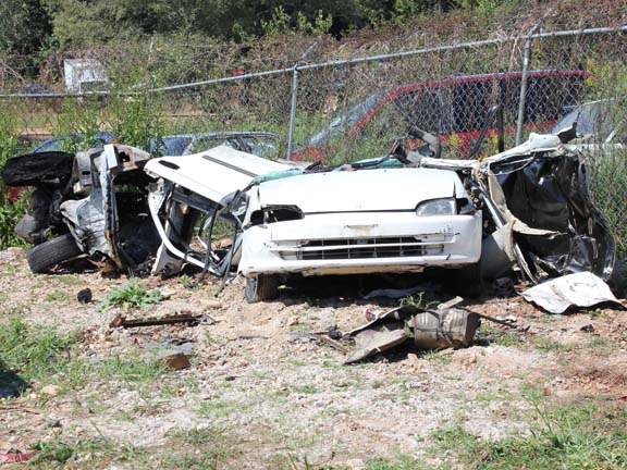 Fiery crash on U.S. 221 bypass kills one