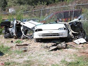 Fiery crash on U.S. 221 bypass kills one