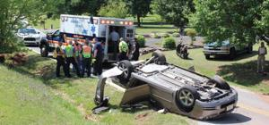 Tuesday crashes injure several people