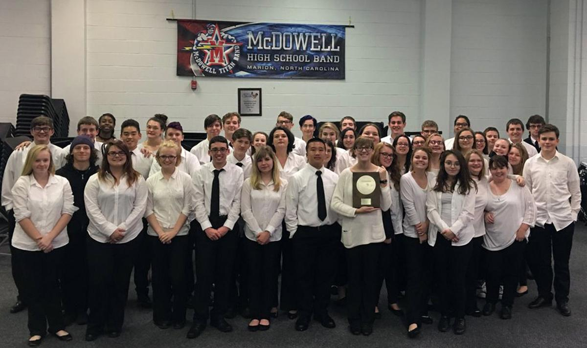 A superior performance: MHS symphonic, concert bands earn high ratings