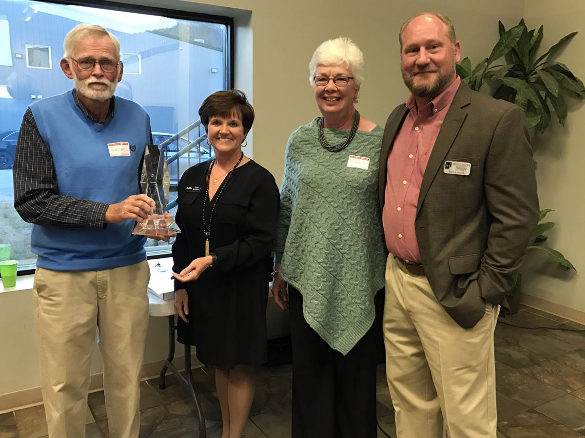 McDowell Quilt Trail honored at annual Chamber banquet