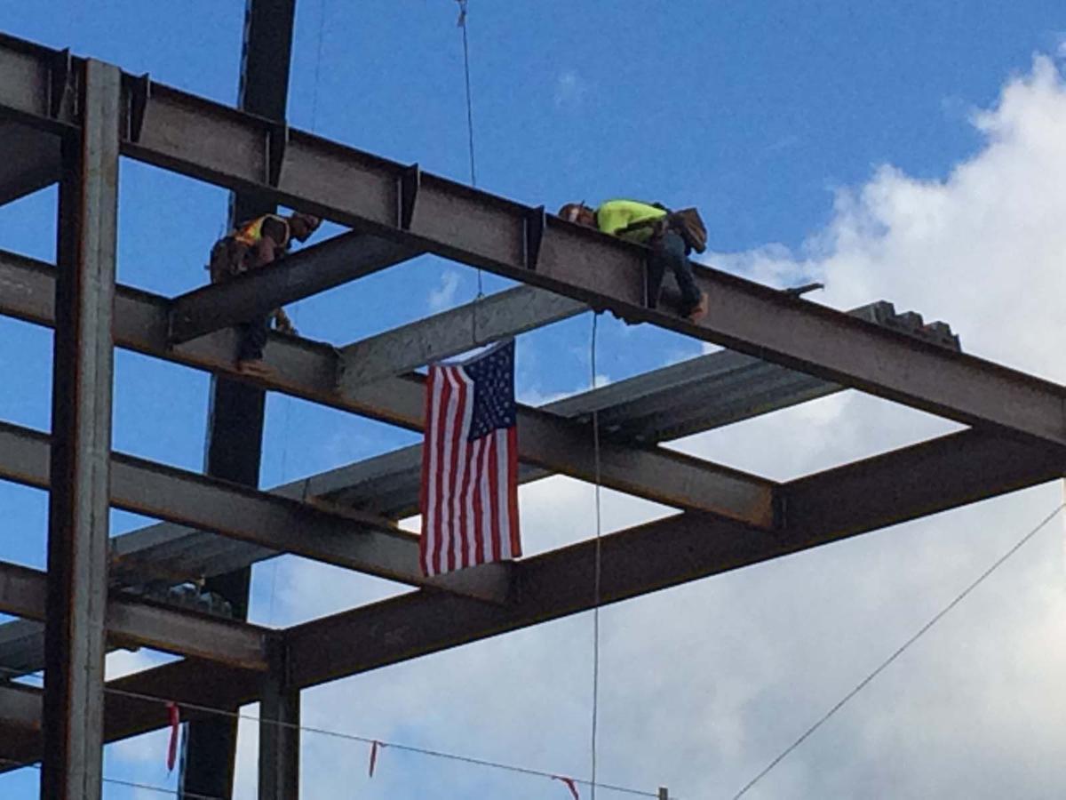 Ceremony marks milestone in the new hospital construction