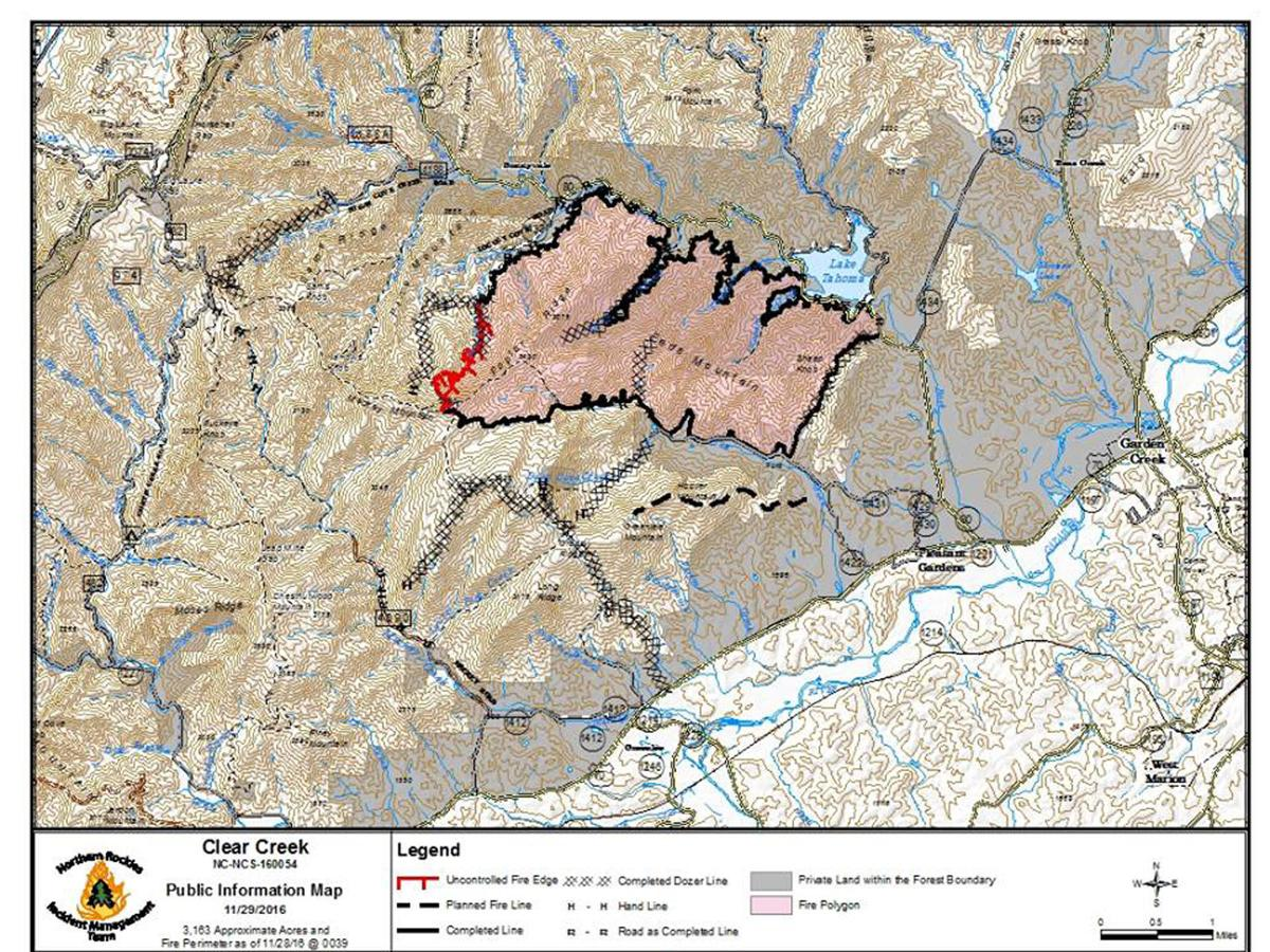 Clear Creek Fire nears containment