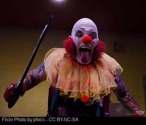 clown phobia essay Researchers who have studied the phobia believe there is some correlation to   file of derys essay deconstructing psycho killer clowns, culture jamming,.