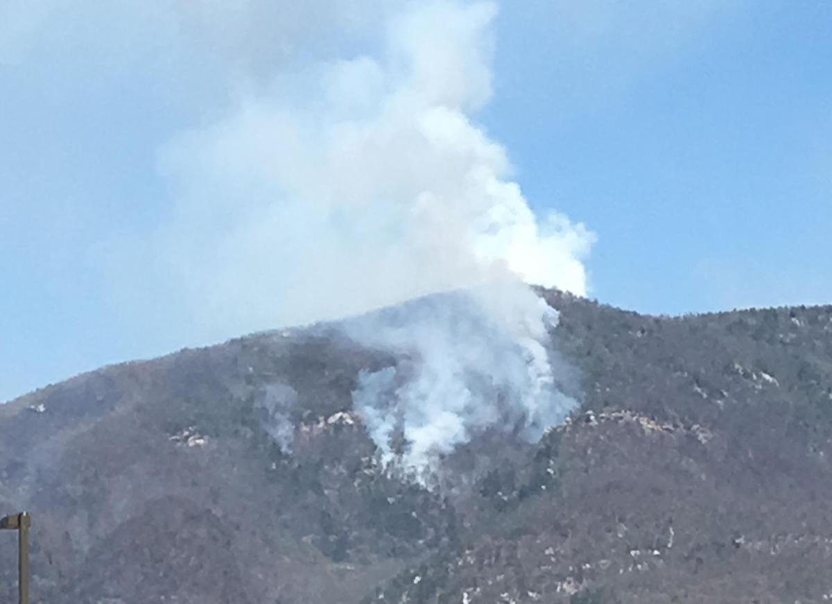 Dobson Knob fire in McDowell update: Operations ramp down, firefighters have Easter service