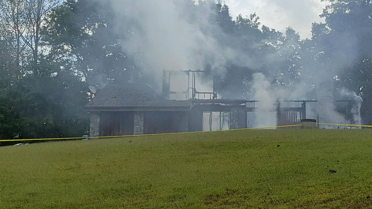 ALERT: Active fire scene at Nebo home, drivers use caution