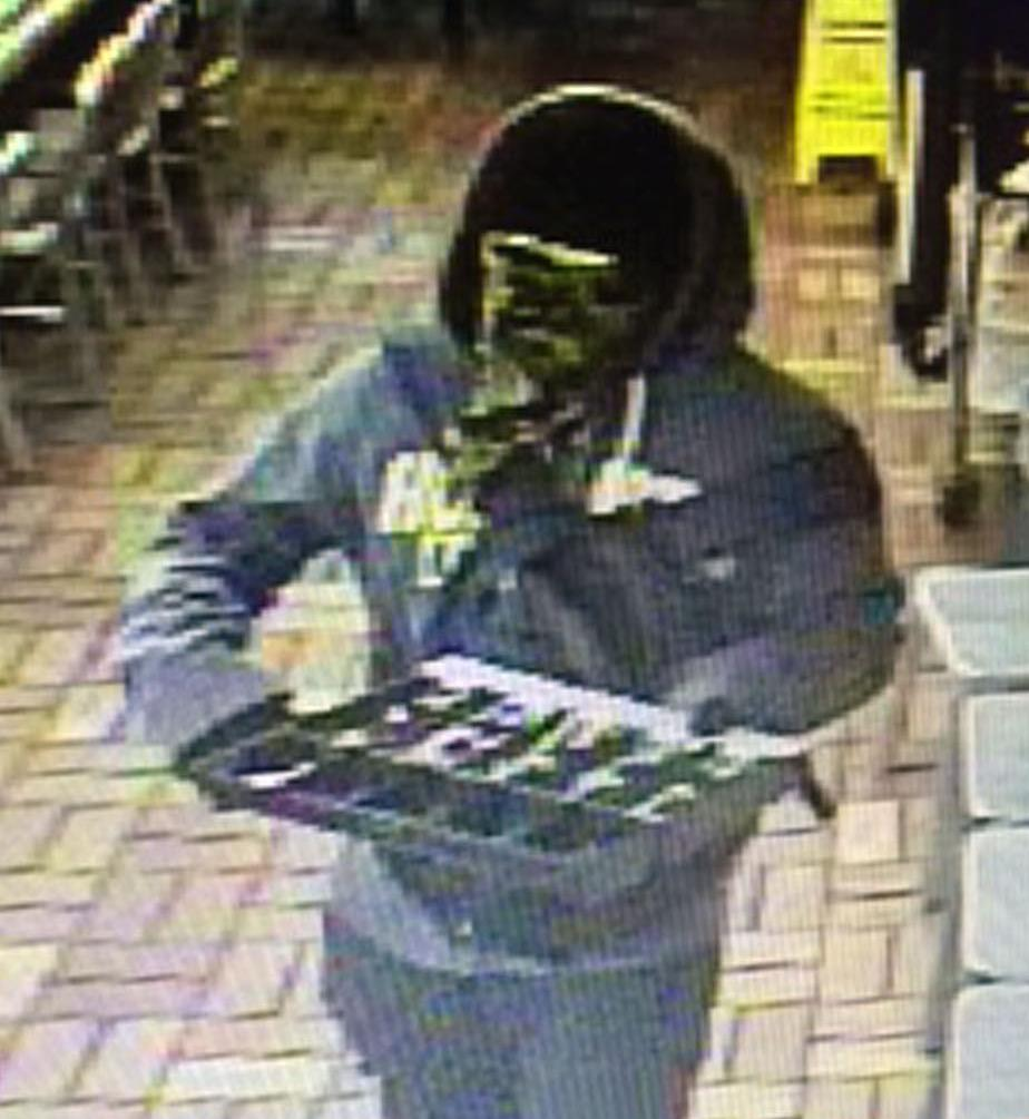 Update: Suspect entered Waffle House with gun, demanded money
