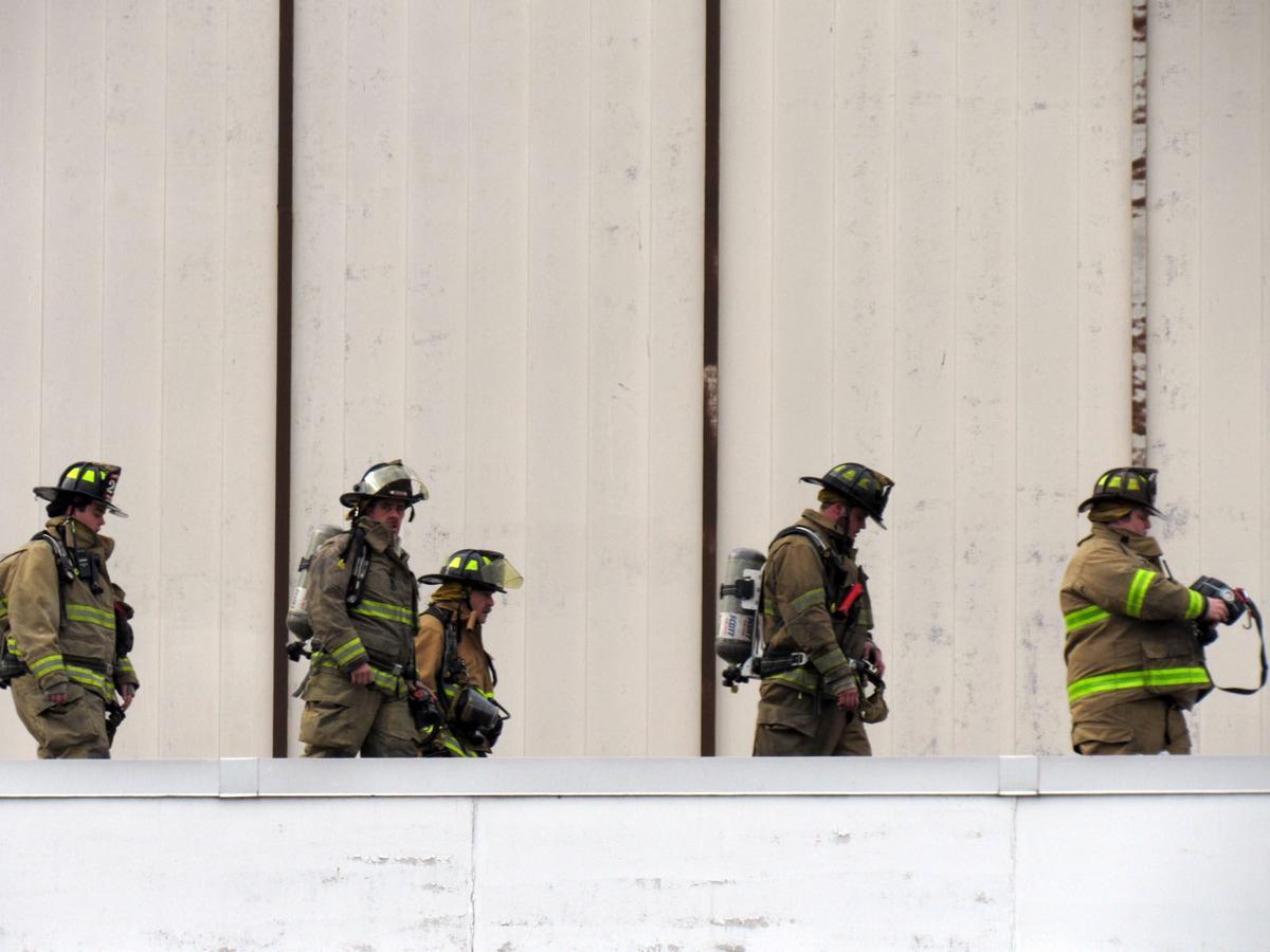 Photo: Fire at IAC