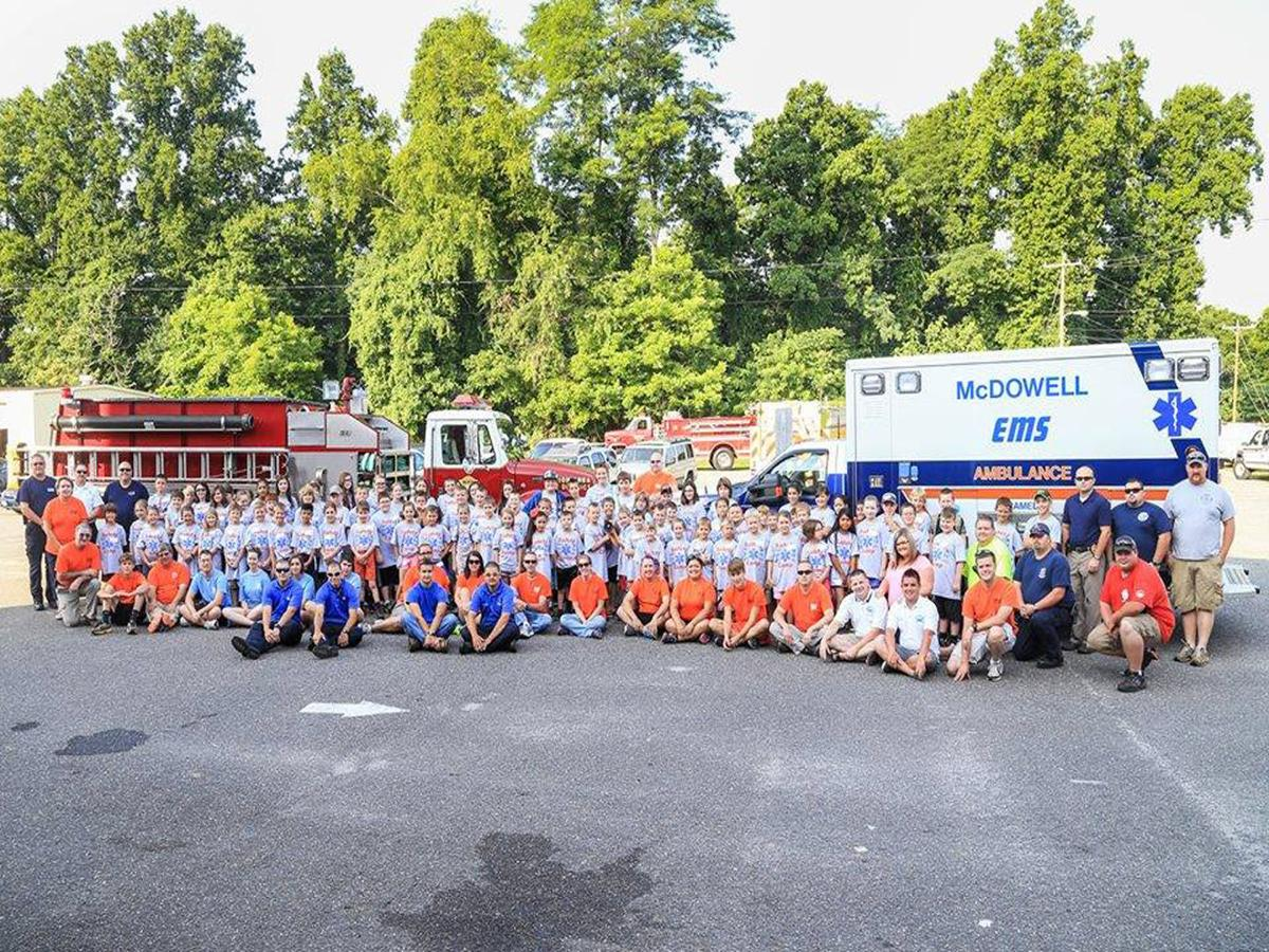 McDowell EMS Safety Camp set for June