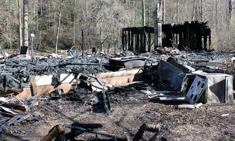Fire destroys Buck Creek home