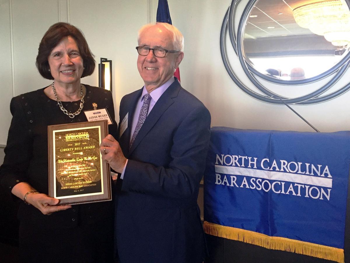 Chief Judge Linda McGee, native of Marion, wins Liberty Bell Award