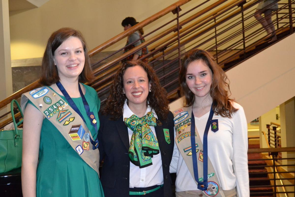 dunwoody sandy springs girl scouts earn gold award