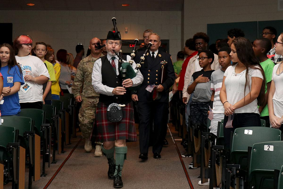 Barber Middle School : Barber Middle School hosts 9/11 Remembrance Ceremony Education ...