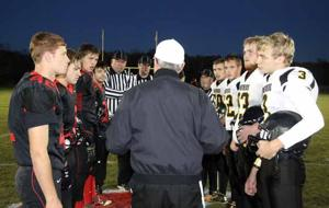 OHS/IHS Football - Pre-game meeting