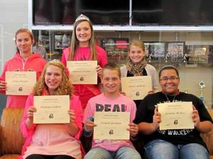 Onamia High School students of the month
