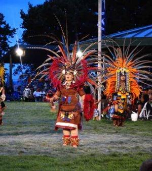 Powwow - Aztec Dancers