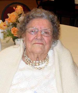 Inez Nielson celebrates 100 years