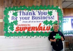 Kelly Cummings, Garrison Supervalu