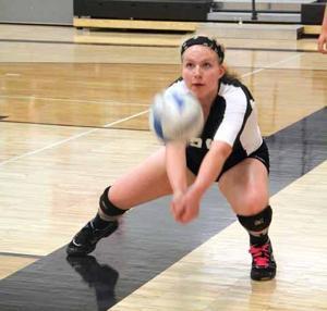OHS Volleyball - Keanna Calkins