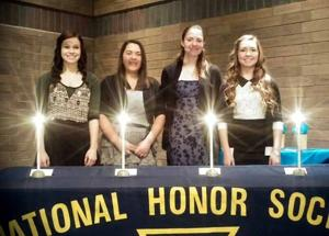 Isle National Honor Society new inductees