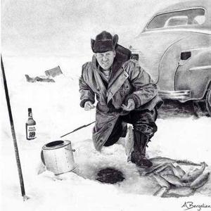 Ryan Fronius - sketch of Grandpa