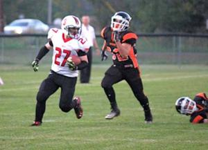IHS football - Jared Zimpel