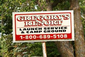 Gregory's Resort - sign