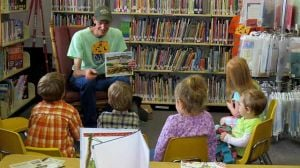 Wes Erwin at the Mille Lacs Lake Community Library