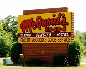 McQuoid's Inn - sign