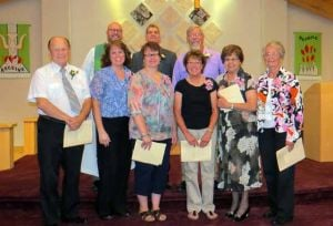 New members at Faith Lutheran Church