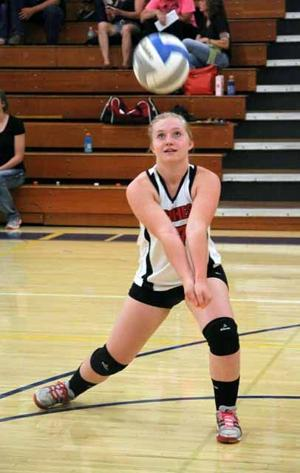 IHS volleyball - Brittney Hubbell