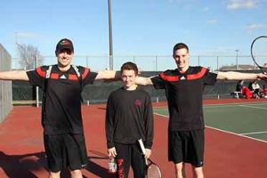 Gobblers tennis players