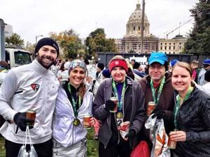 Medtronic Twin Cities Marathon 10-mile runners