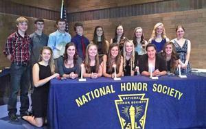 IHSNational Honor Society induction ceremony