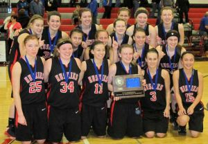 Lady Huskies win sub-section trophy