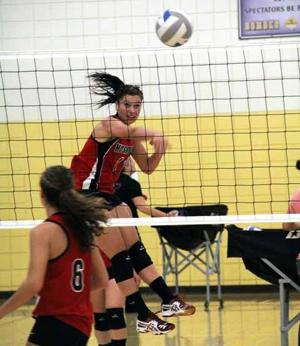 Isle Volleyball - Maddey Mellon