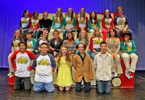 "OHS ""School House Rock"" musical cast"