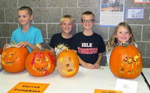Pumpkin contest - carver winners