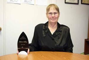 Kathy Galliger was one of 400 nominated.