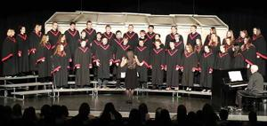 McGregor Senior High Choir performed a spring concert on March 7 during Music in Our Schools month under the direction of Julie Jacobsma.