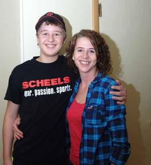 Anne Remer and son Nathan Hummel