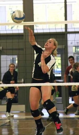 OHS volleyball - Ashley Golombowski
