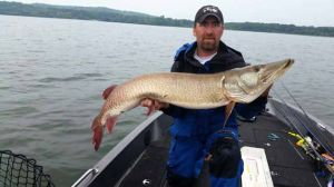 2014 Professional Musky Tournament Trail - Biggest fish