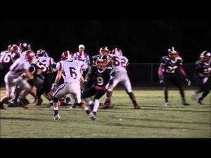 Metter versus Harlem Football Highlights