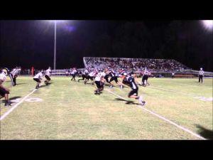 Metter versus Claxton Football Highlights