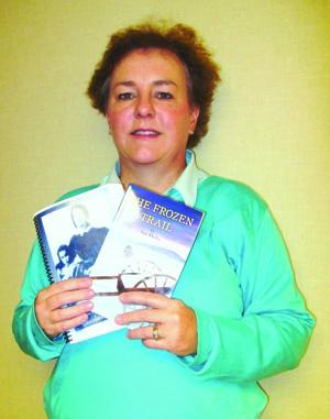 Local woman publishes pioneer fiction