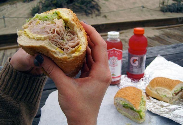 Sandwich Fast Food Sun Valley