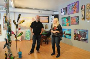 Valley Greens Gallery brings the flavor of the streets to Carmel Valley.