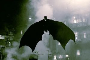 Christopher Nolan digs into a superhero's psyche in the dark, risky<i> Batman Begins.</i>