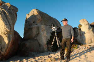 Controversial wildlife photographer tracks potential archaeological treasures.